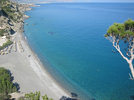 The beach of Agia Fotia Ierapetra